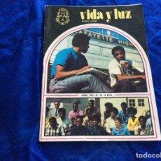 Coleccionismo Papel Varios: VIDA Y LUZ , REVISTA JUVENIL.NÚMERO 63 JUNIO 1972. Lote 120962195