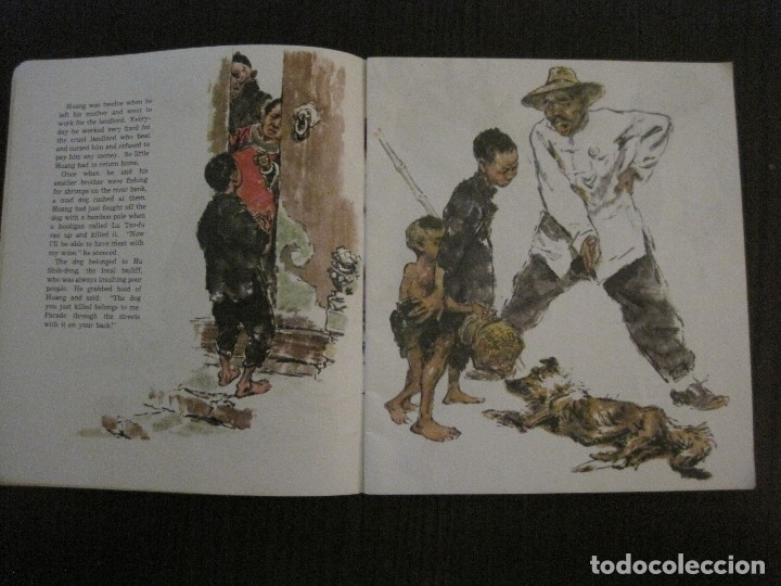 Coleccionismo Papel Varios: HUANG CHI-KUANG A HERO TO REMEMBER -PEKIN 1966-PEOPLE´S REPUBLIC OF CHINA -VER FOTOS-(V-14.521) - Foto 4 - 121063895