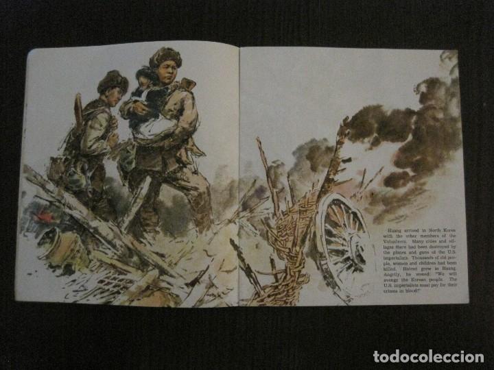 Coleccionismo Papel Varios: HUANG CHI-KUANG A HERO TO REMEMBER -PEKIN 1966-PEOPLE´S REPUBLIC OF CHINA -VER FOTOS-(V-14.521) - Foto 7 - 121063895