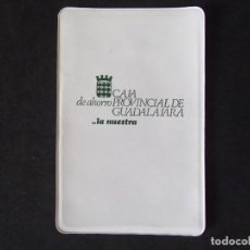 Coleccionismo Papel Varios: GUADALAJARA-V40-CAJA PROVINCIAL DE GUADALAJARA-FUNDA DE PLASTICO LIBRETA DE AHORROS. Lote 121313975