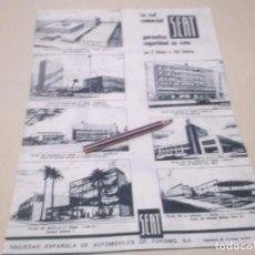 Coleccionismo Papel Varios: RECORTE PUBLICIDAD AÑOS 60 - RED COMERCIAL SEAT . Lote 121403319