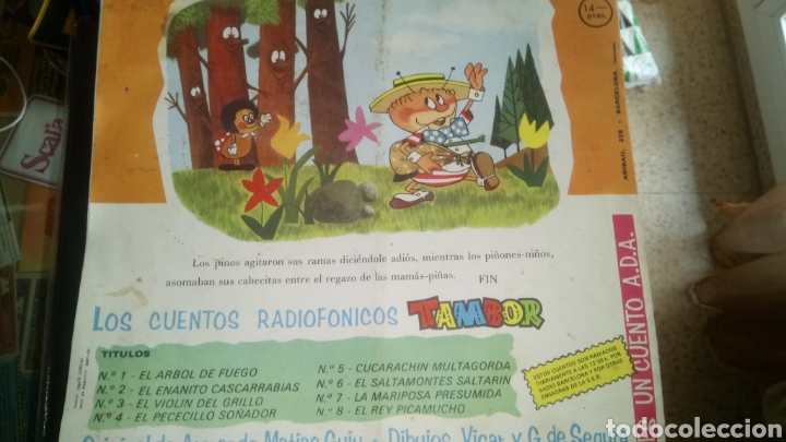 Coleccionismo Papel Varios: TAMBOR. CUENTOS RADIOFÓNICOS. NÚM. 3. - Foto 2 - 121566530