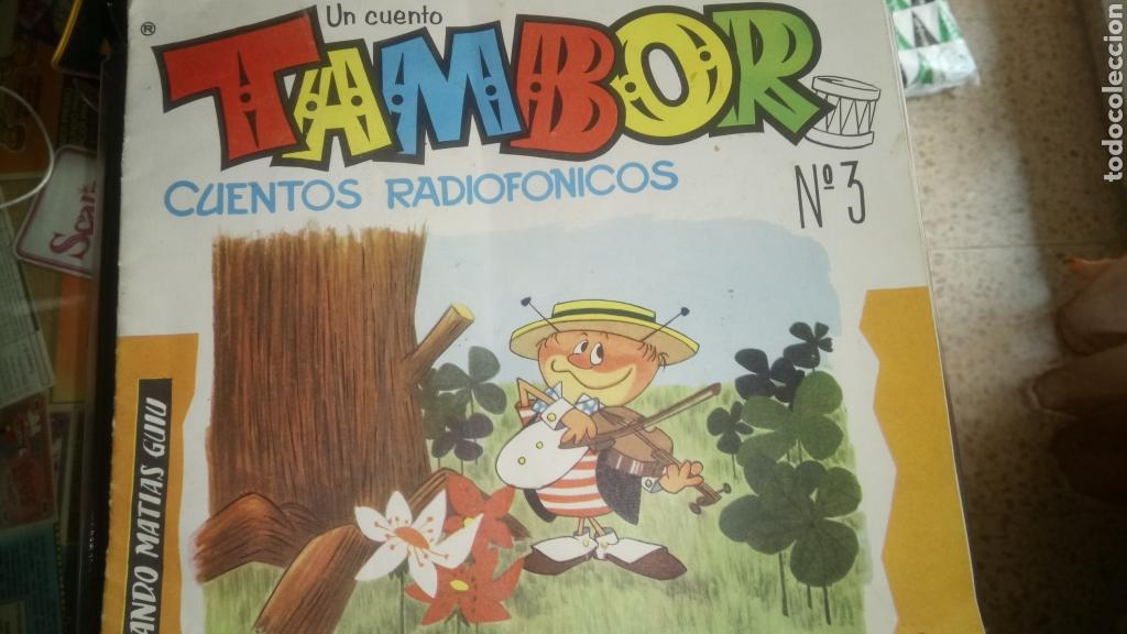 TAMBOR. CUENTOS RADIOFÓNICOS. NÚM. 3. (Coleccionismo en Papel - Varios)