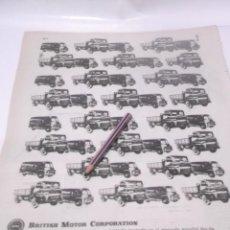 Coleccionismo Papel Varios: RECORTE PUBLICIDAD AÑO 60 - CAMIONES Y FURGONETAS SAVA . Lote 122047215