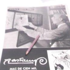 Outros artigos de papel: RECORTE PUBLICIDAD AÑO 60 - VALENTIN CASTANYS. Lote 122082791