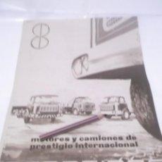 Coleccionismo Papel Varios: RECORTE PUBLICIDAD AÑOS 50/60 - CAMIONES BARREIROS. Lote 122207495