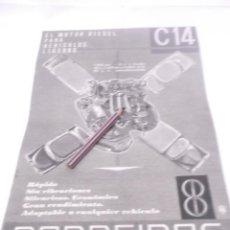 Coleccionismo Papel Varios: RECORTE PUBLICIDAD AÑOS 50/60 - MOTORES BARREIROS. Lote 122207711
