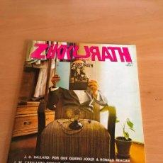 Coleccionismo Papel Varios: REVISTA ZIKKURATH Nº 1 1980. Lote 122443247