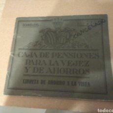 Coleccionismo Papel Varios: LIBRETA AHORROS AÑO 1950 DE GRANOLLERS. Lote 122626371