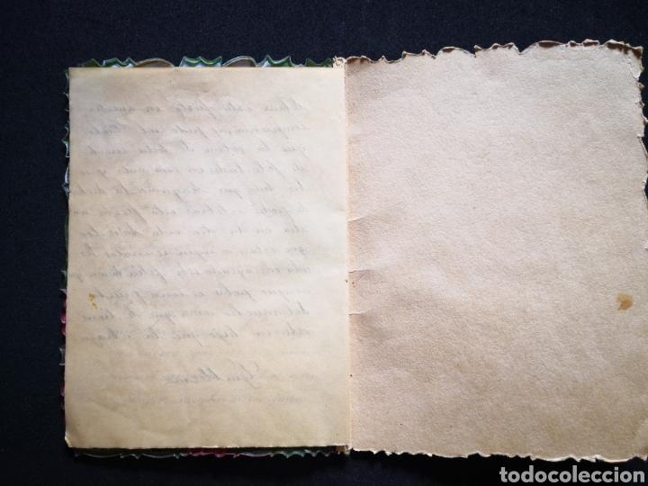 Coleccionismo Papel Varios: Tarjeta navideña campana relieve inscrita ppio s xx 12X16,5 cm - Foto 4 - 122629043
