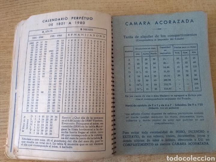 Coleccionismo Papel Varios: **ANTIGUA AGENDA, --JOVER I CIA (BANQUEROS) OPERACIONES DE BANCA Y BOLSA (1953)** - Foto 2 - 122682644