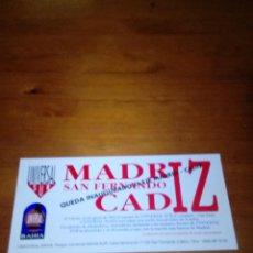 Coleccionismo Papel Varios: UNIVERSAL SUR. MADRID SAN FERNANDO CADIZ. QUEDA INAUGURADO EL EJE MADRID. CADIZ. EST24B2. Lote 123374911