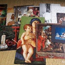 Coleccionismo Papel Varios: ANTIGUAS FELICITACIONES NAVIDEÑAS....AÑOS 70...LOTE DE 10 TARJETAS.... Lote 123446199