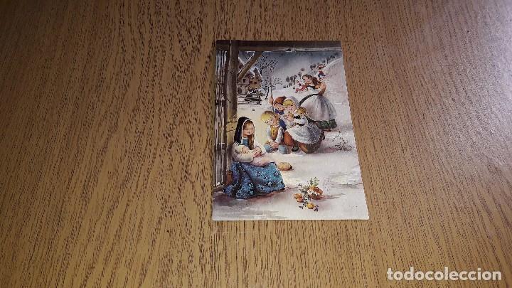Coleccionismo Papel Varios: ANTIGUAS FELICITACIONES NAVIDEÑAS....AÑOS 70...LOTE DE 10 TARJETAS... - Foto 18 - 123446199