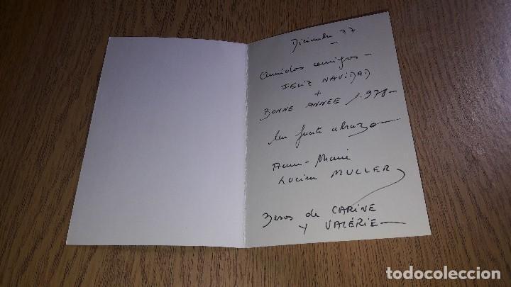 Coleccionismo Papel Varios: ANTIGUAS FELICITACIONES NAVIDEÑAS....AÑOS 70...LOTE DE 10 TARJETAS... - Foto 19 - 123446199