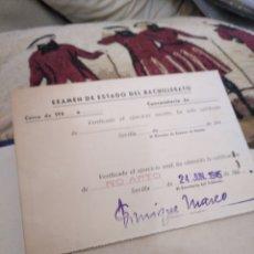 Coleccionismo Papel Varios: LIBRO DE CALIFICACION ESCOLAR. Lote 123590043