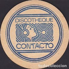 Coleccionismo Papel Varios: POSAVASOS DISCOTHEQUE CONTACTO . Lote 124854895