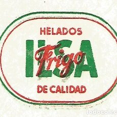 Coleccionismo Papel Varios: HELADOS FRIGO ILSA DE CALIDAD ANTIGUA SERVILLETA PAPEL FINO AÑOS 60 70. Lote 126841472