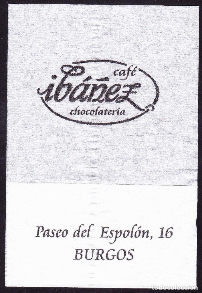 SERVILLETA DE PAPEL CAFE IBAÑEZ (BURGOS), usado segunda mano