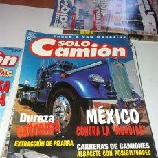 Coleccionismo Papel Varios: REVISTA SOLO CAMIÓN 114 AGOSTO 1999. Lote 126802735