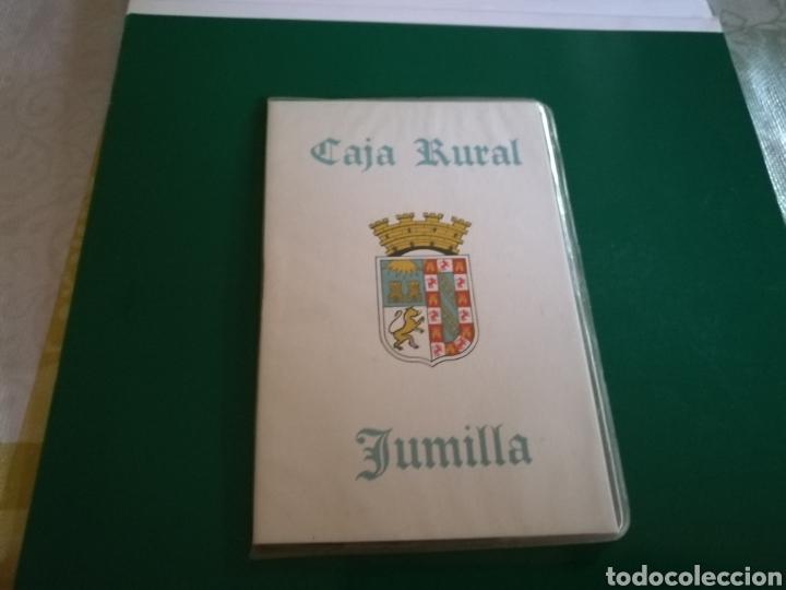 ANTIGUA LIBRETA BANCARIA CAJA RURAL DE JUMILLA (Coleccionismo en Papel - Varios)
