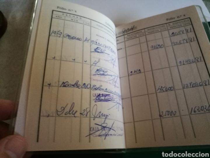 Coleccionismo Papel Varios: Antigua libreta bancaria Caja Rural de Jumilla - Foto 3 - 126975072