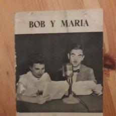 Coleccionismo Papel Varios: INGLES POR RADIO 4 REVISTAS BOB Y MARIA MATRIMONIO WALKER. Lote 126986628