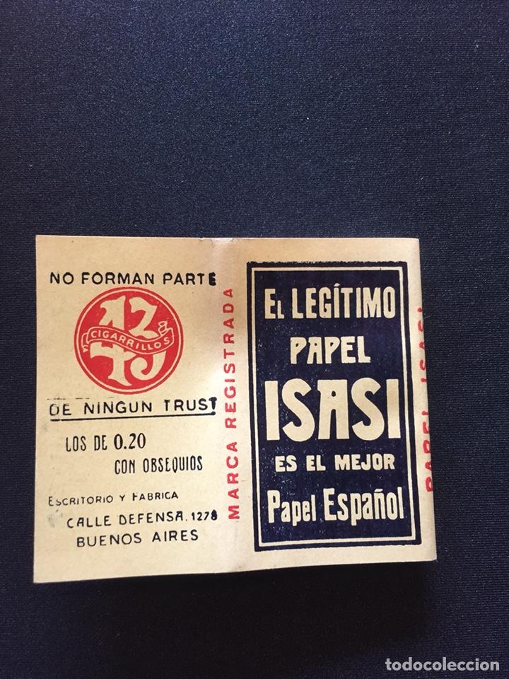 LIBRITO PAPEL FUMAR ISASI 100 HOJAS (Coleccionismo en Papel - Varios)