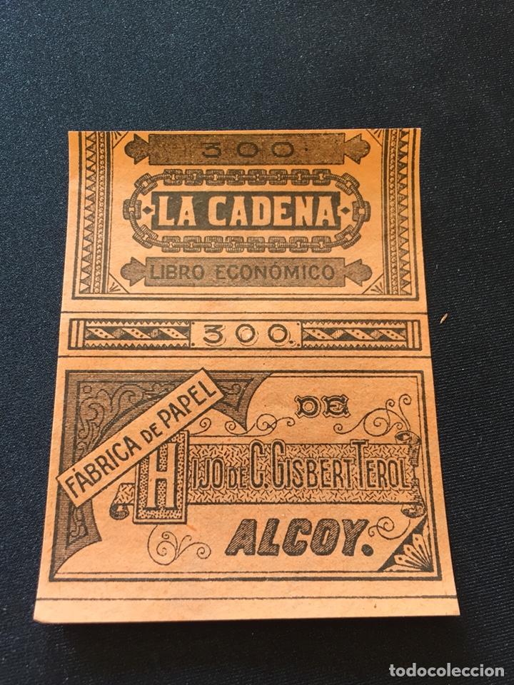 LIBRITO PAPEL FUMAR LA CADENA 300 (Coleccionismo en Papel - Varios)