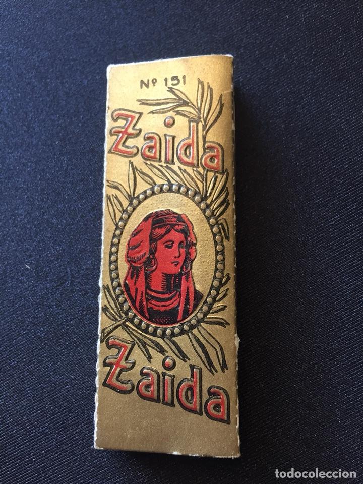 LIBRITO PAPEL FUMAR ZAIDA N151 (Coleccionismo en Papel - Varios)