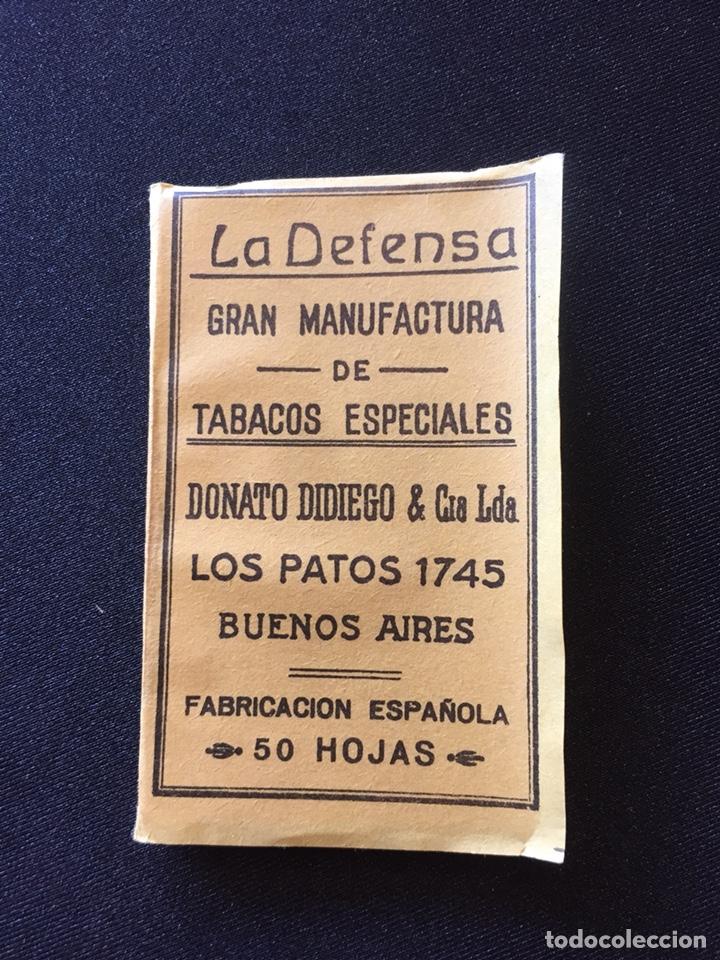 LIBRITO PAPEL FUMAR LA DEFENSA (Coleccionismo en Papel - Varios)