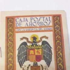 Coleccionismo Papel Varios: ALMANAQUE 1958 CAJA DE POSTAL DE AHORROS. Lote 127782531