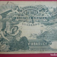 Coleccionismo Papel Varios: 1902. ALBACETE Y MURCIA. ENSEÑANZA INTUITIVA. CUADERNO DE ESCRITURA GRÁFICA Nº 2 'A'. SISTEMA.... Lote 127869079