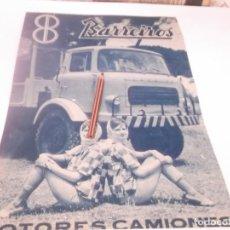 Coleccionismo Papel Varios: RECORTE PUBLICIDAD AÑOS 60 - CAMIONES BARREIROS. Lote 128046039
