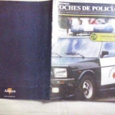 Coleccionismo Papel Varios: NUESTROS COCHES DE POLICIA Nº 28 LAND ROVER 88 (ABLN). Lote 128150687