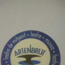 Coleccionismo Papel Varios: ARTENBRUT. POSAVASOS. Lote 128299758