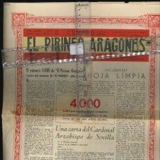 Coleccionismo Papel Varios: EL PIRINEO ARAGONES Nº 4000 1960 . Lote 128307419