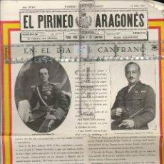 Coleccionismo Papel Varios: EL PIRINEO ARAGONES 1928 ( ORIGINAL DE LA EPOCA . Lote 128307571