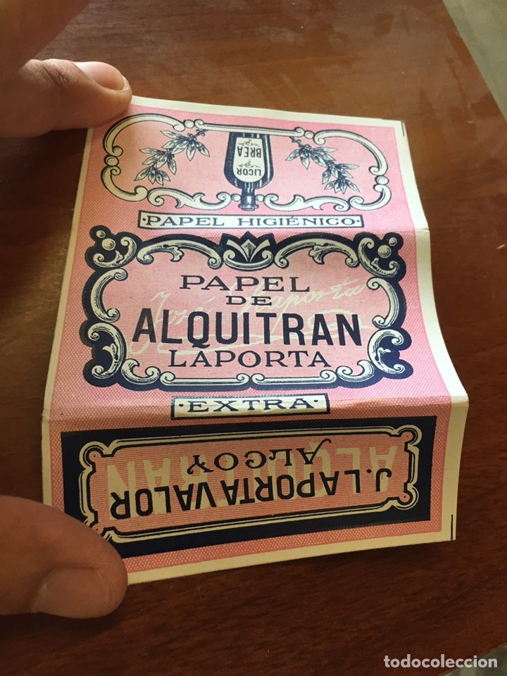 LIBRITO PAPEL FUMAR ALQUITRÁN (Coleccionismo en Papel - Varios)