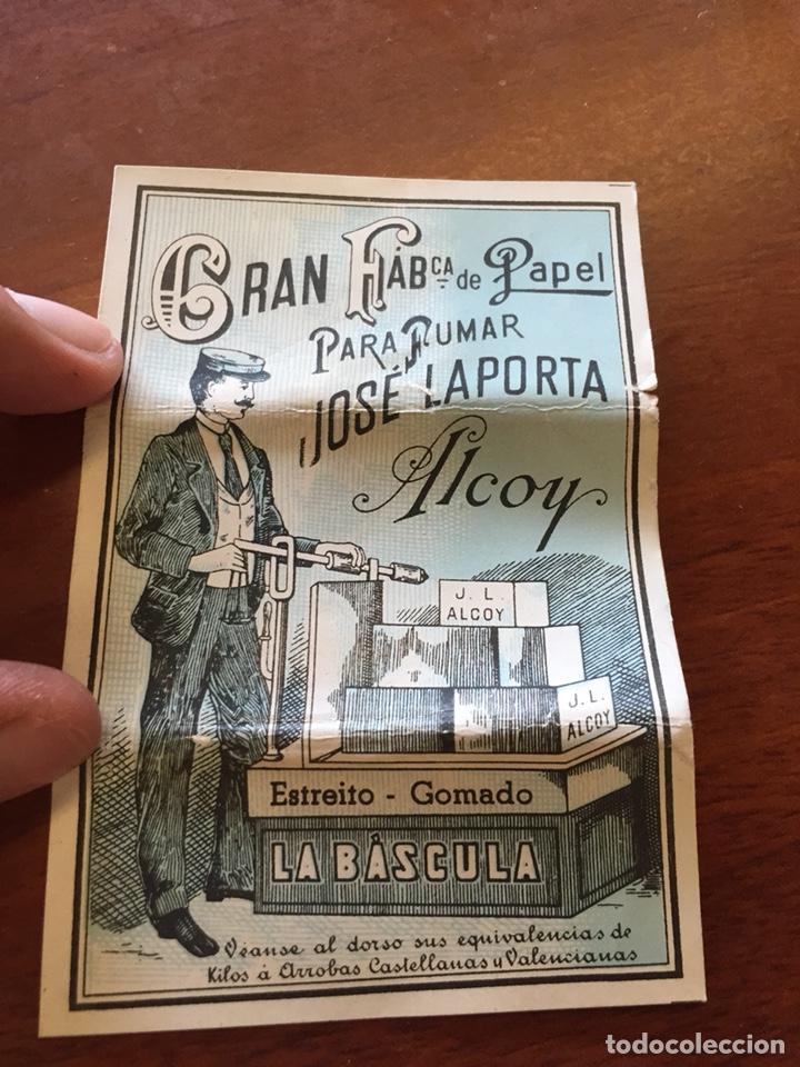 LIBRITO PAPEL FUMAR LA BASCULA (Coleccionismo en Papel - Varios)