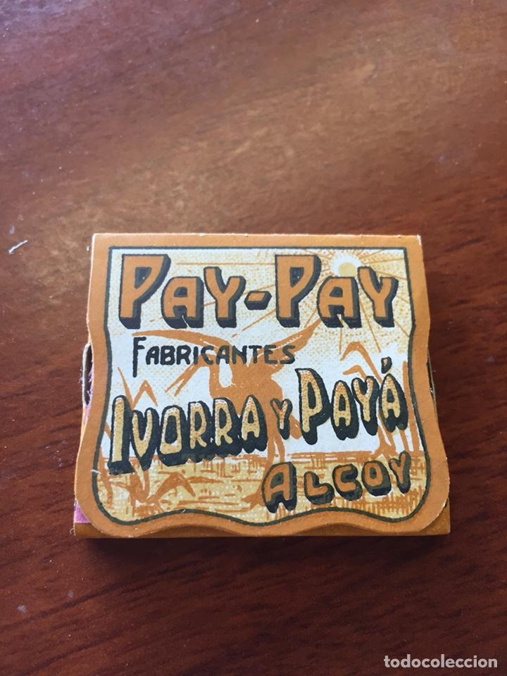 LIBRITO PAPEL FUMAR PAY PAY ESTUCHE JAPONÉS (Coleccionismo en Papel - Varios)