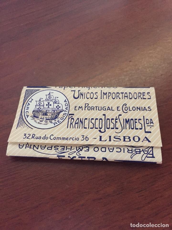 Coleccionismo Papel Varios: LIBRITO PAPEL FUMAR NAUTA - Foto 2 - 128816748