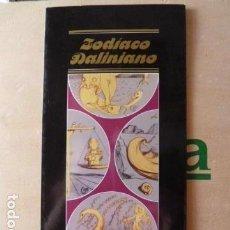 Coleccionismo Papel Varios: DALI -FLYER DEL ZODIACO DALINIANO. Lote 129200043