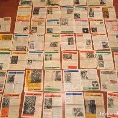 Coleccionismo Papel Varios: ANTIGUA COLECCION DE MAS DE 55 FULL DOMINICAL AÑOS 70-80. Lote 129430043