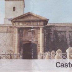 Coleccionismo Papel Varios: ENTRADA CASTELL DE MONTJUÏC. Lote 129720251