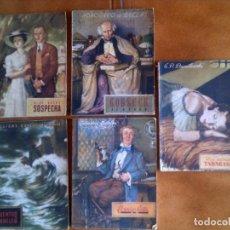 Coleccionismo Papel Varios: LOTE DE NOVELAS COLECCION OASIS EDICIONES REGUERA AÑOS 40. Lote 130103327