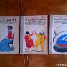 Coleccionismo Papel Varios: LOTE DE NOVELAS Y CUENTOS LARRA AÑOS 40. Lote 130103447