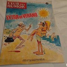 Coleccionismo Papel Varios: CLUB DEL HUMOR - EXTRA DE VERANO 1970 FIDES. Lote 130274659