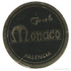 Coleccionismo Papel Varios: ANTIGUO POSAVASOS PUB MONACO PALENCIA POSA VASO . Lote 131610846
