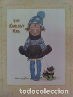 GRABADO THE CUDDLY KID (Coleccionismo en Papel - Varios)